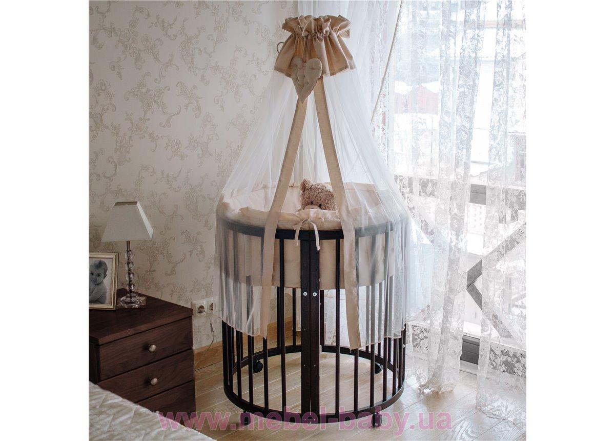 Кроватка многофункциональная 7 в 1 Dreammy 72х122 венге