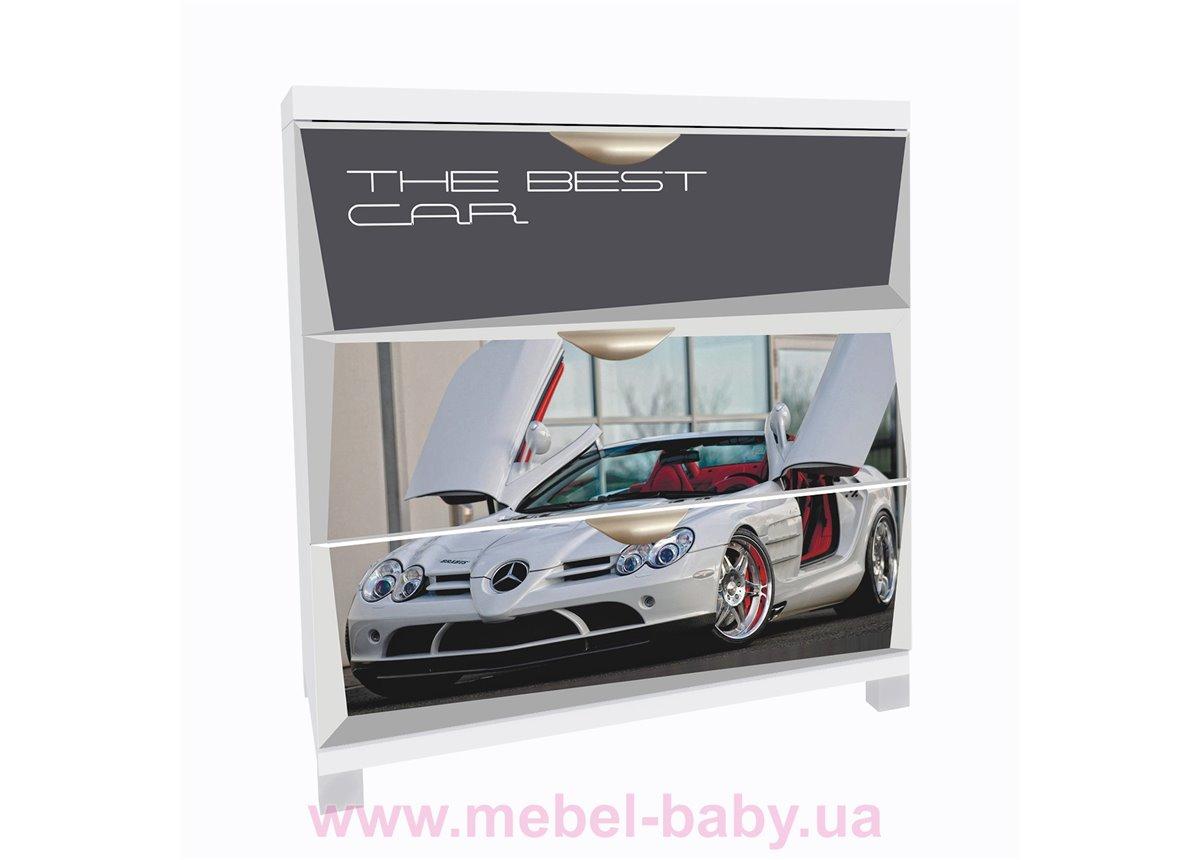 Комод А1 Mercedes фасады МДФ Матовый 90x80x50 MebelKon