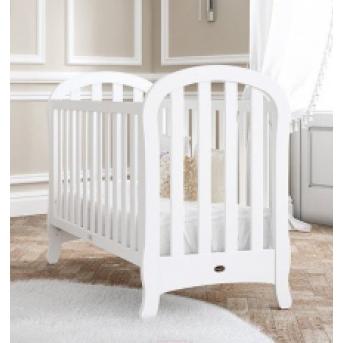 Не качающаяся кроватка для новорожденных Belle Matt White 60х120  Trama белый