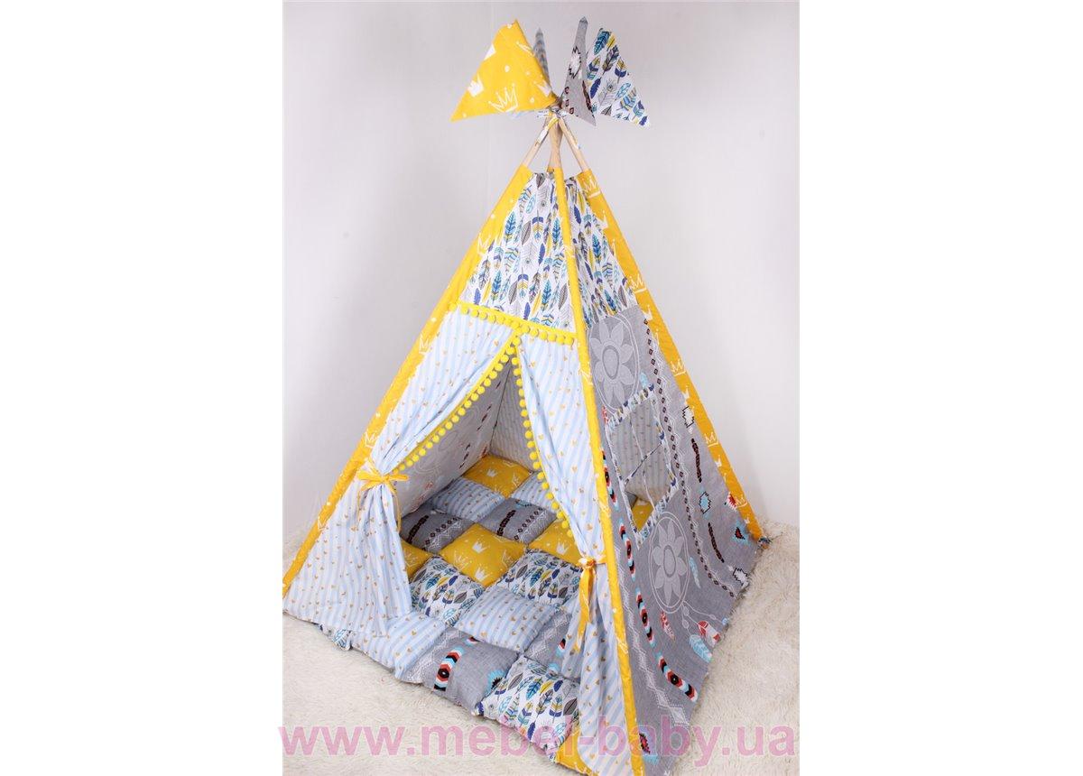 Детская палатка-вигвам Ловец снов 125х125х170 см Мирамель