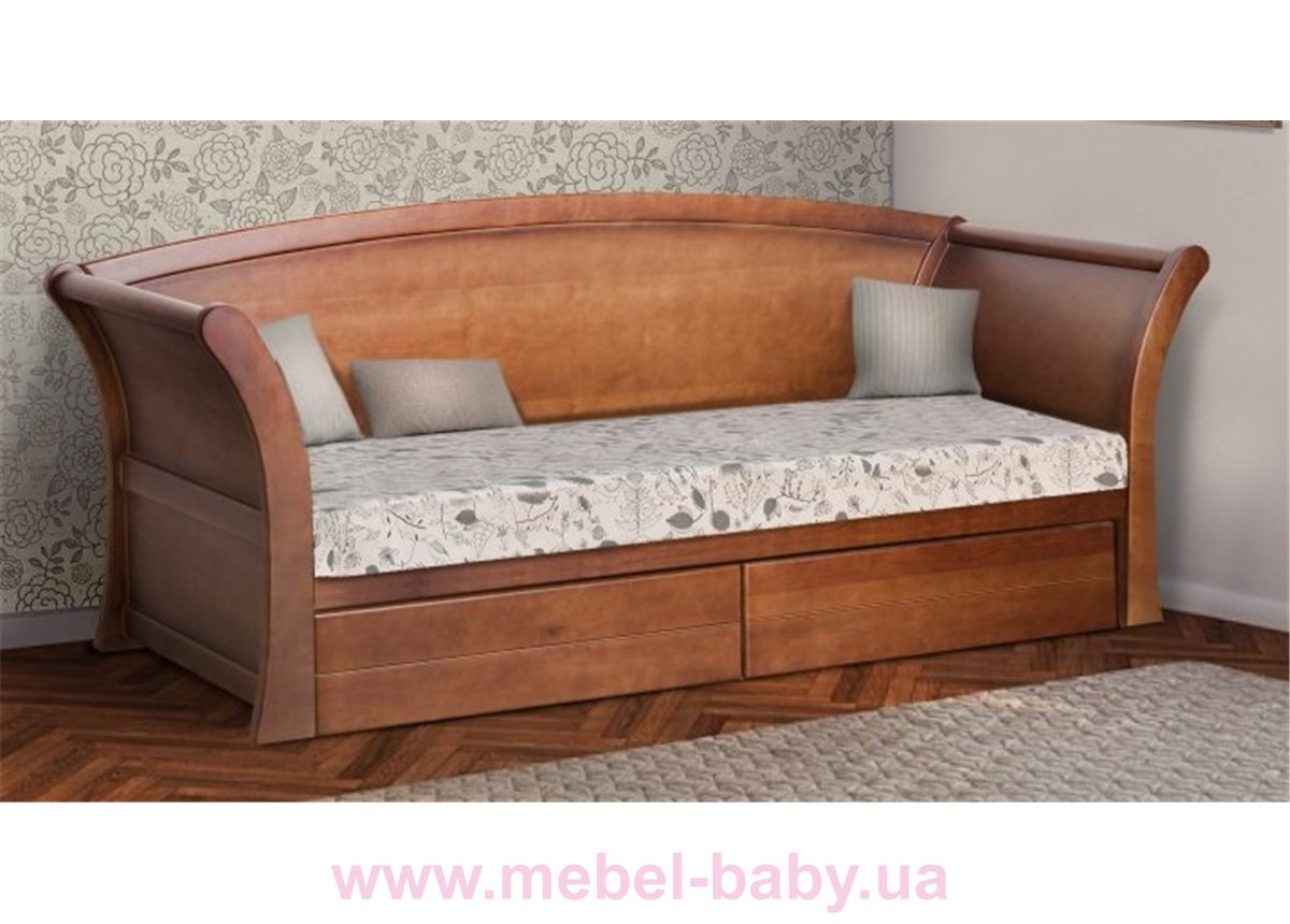 Кровать-диванчик Адриатика 80х190 Микс-Мебли