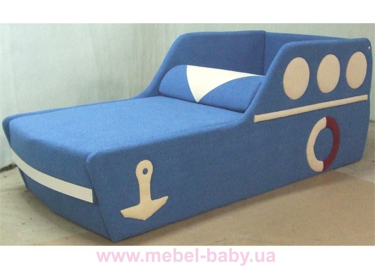 Детский диван Кораблик 80х200 Орбита