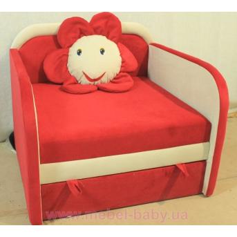 Детский диван Ромашка 85х100 Орбита