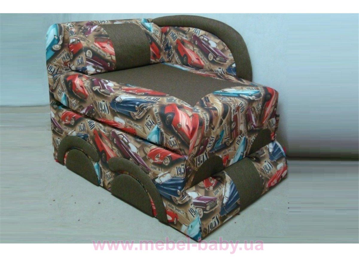 Детский диван Машинка 83х160 Орбита