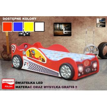 Кровать-машинка Monza mini 80х160 Plastiko