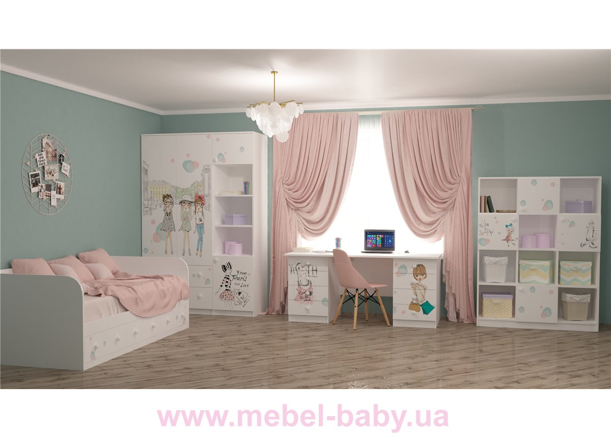 Детская комната MebelKon Гламур