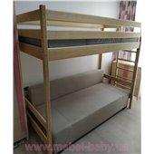 Кровать-чердак Альпы 90х200 Ирель 187