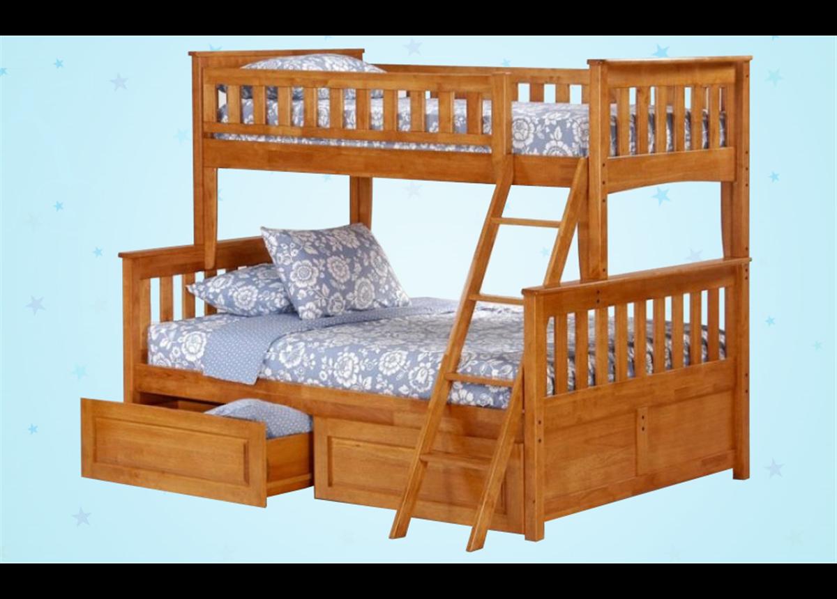 Двухъярусная кровать-трансформер Сарет Дервета 190x80