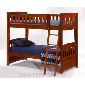 Двухъярусная кровать-трансформер Эстелла Дервета 80x190