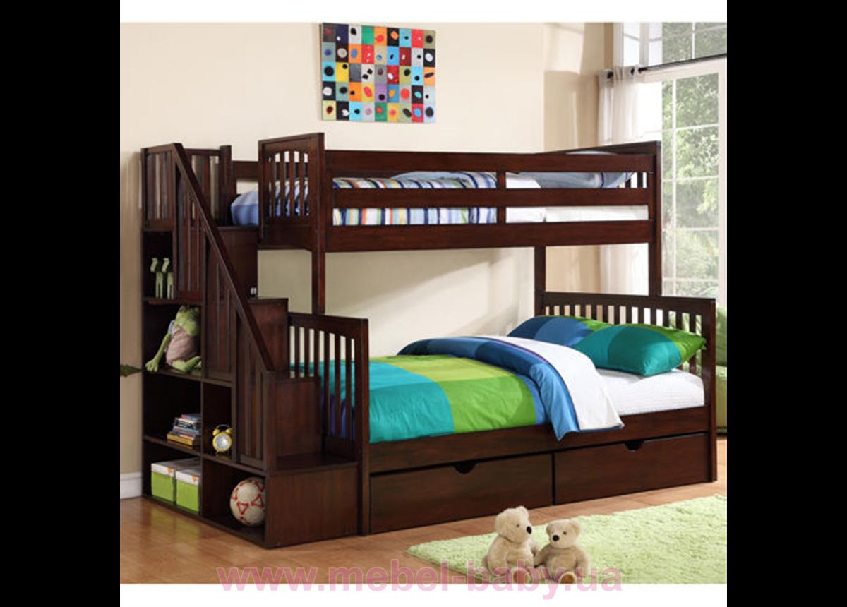 Двухъярусная кровать Флагман Дервета 80x190