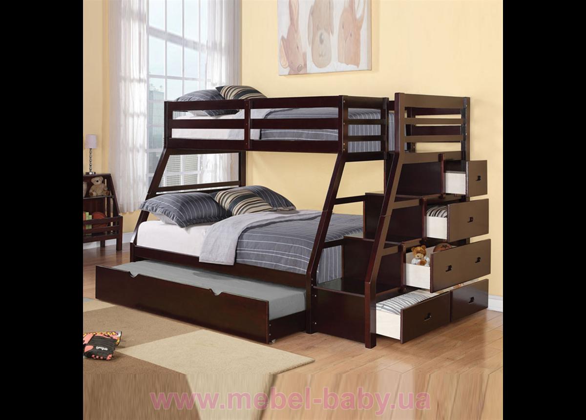 Двухъярусная кровать Кайман Дервета 80x190