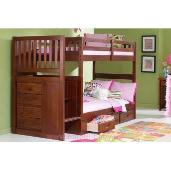 Двухъярусная кровать Неаполь Дервета 90x190