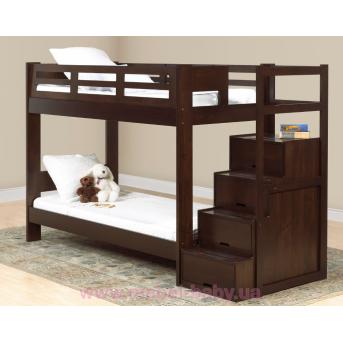 Двухъярусная кровать Остин Дервета 90x190