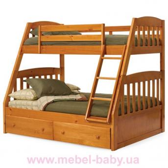 Двухъярусная кровать-трансформер Дакота Дервета 80x190