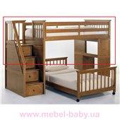 Кровать-чердак Мирон Дервета 190x90