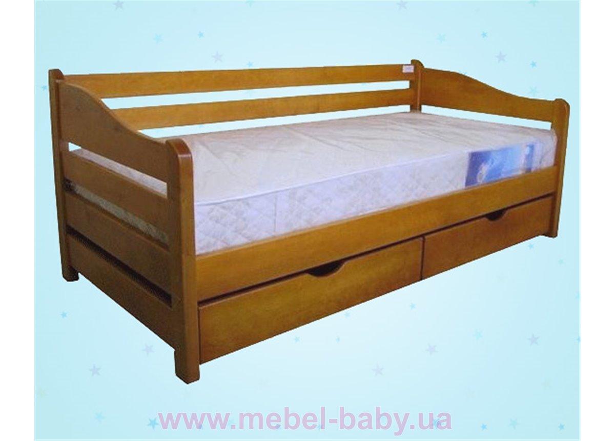 Односпальная кровать Оскар Дервета 190x80