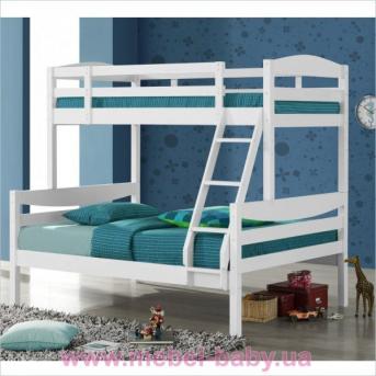 Двухъярусная кровать-трансформер Эльдорадо 13 Дервета 190x80