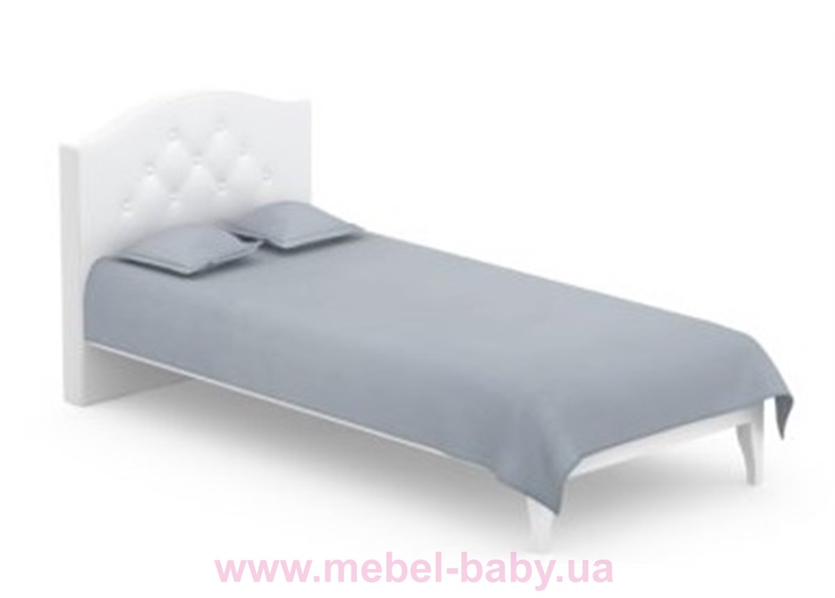 507_Кровать RE Серия Vibe White Meblik 90x200