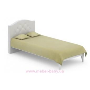 507_Кровать 90x200 Simple Meblik серый