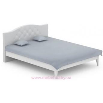 509_Кровать 160x200 Simple Meblik серый