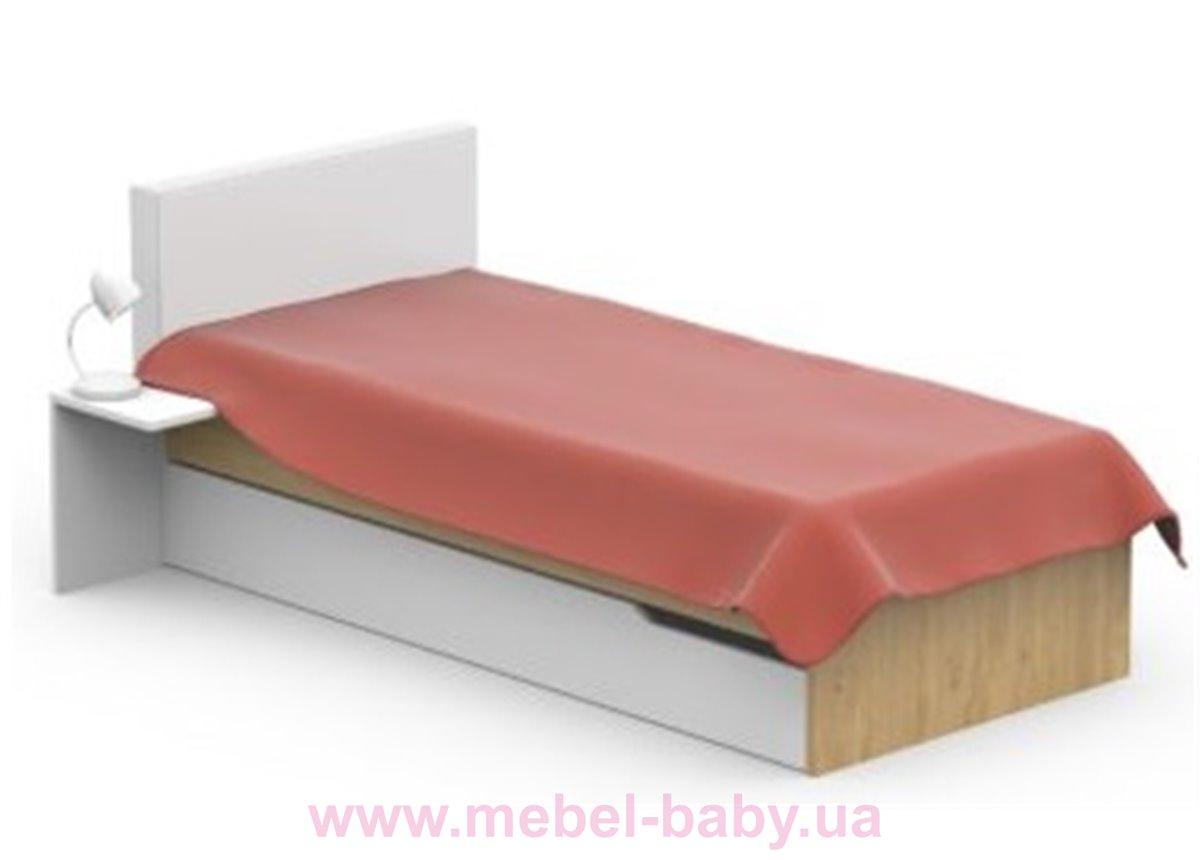 427_Кровать YO 90x190 Серия Uni Oak Meblik