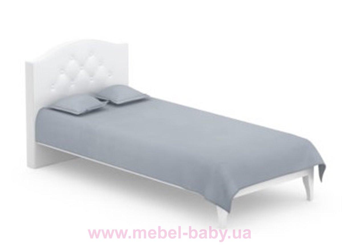 507_Кровать 90x200 Simple Meblik белый