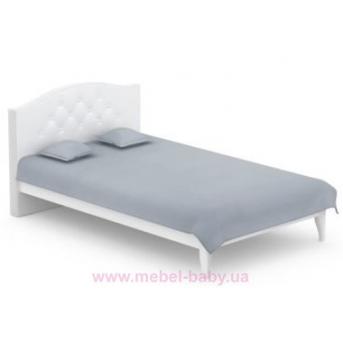 508_Кровать 120x200 Simple Meblik белый