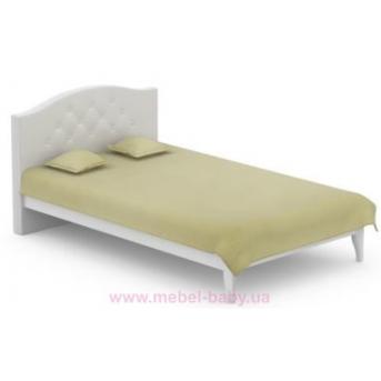 508_Кровать 120x200 Simple Meblik серый