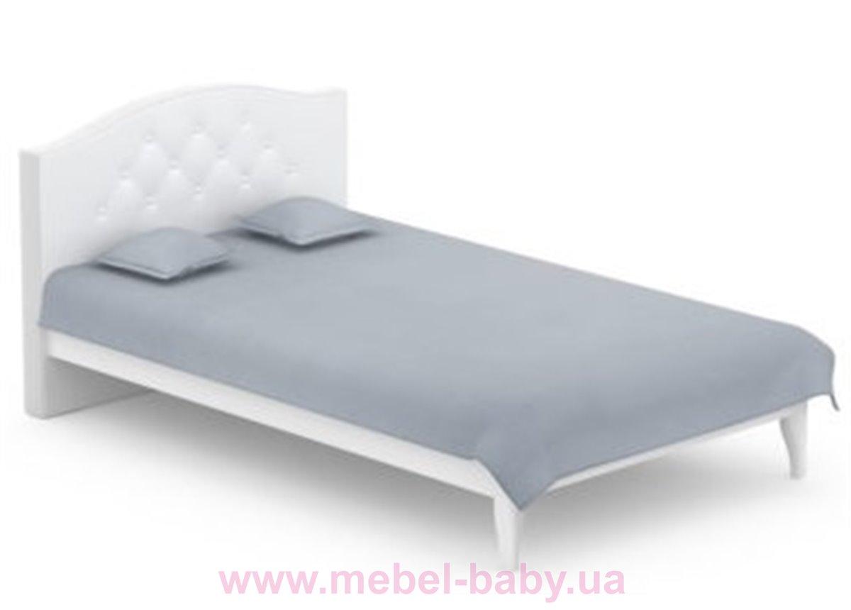 509_Кровать 160x200 Simple Meblik белый