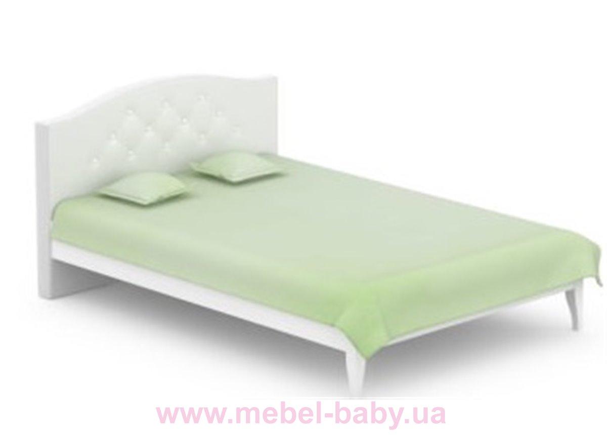 522_Кровать 140x200 Simple Meblik белый