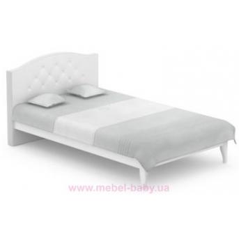 522_Кровать Re 140х200 Серия Royal White Meblik