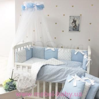 Комплект Shine Сердечко (7 предметов) Маленькая Соня Голубой