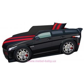 Кровать-машинка Range Rover серии PREMIUM Viorina Deko 1800 800 мм. + мякий спойлер+подушка