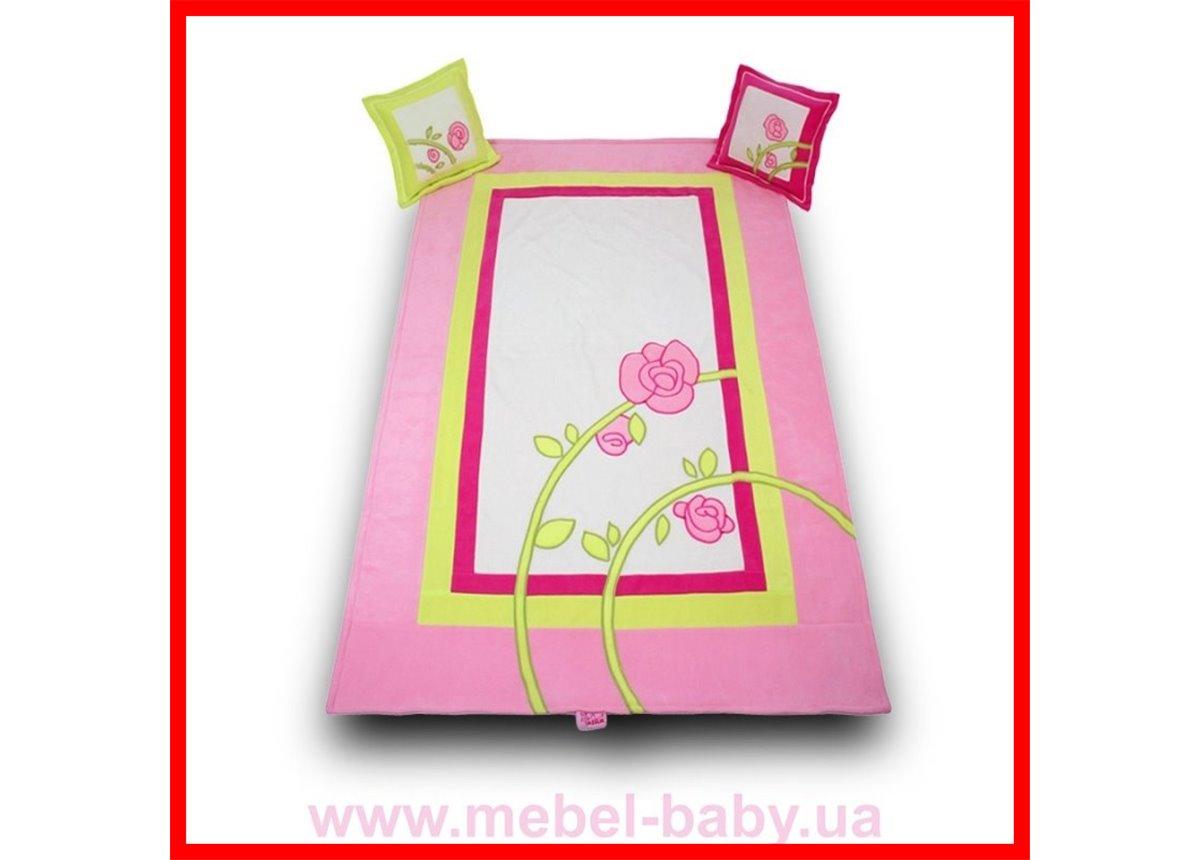 Распродажа 906_Покрывало и 2 подушки Серия Roza roz