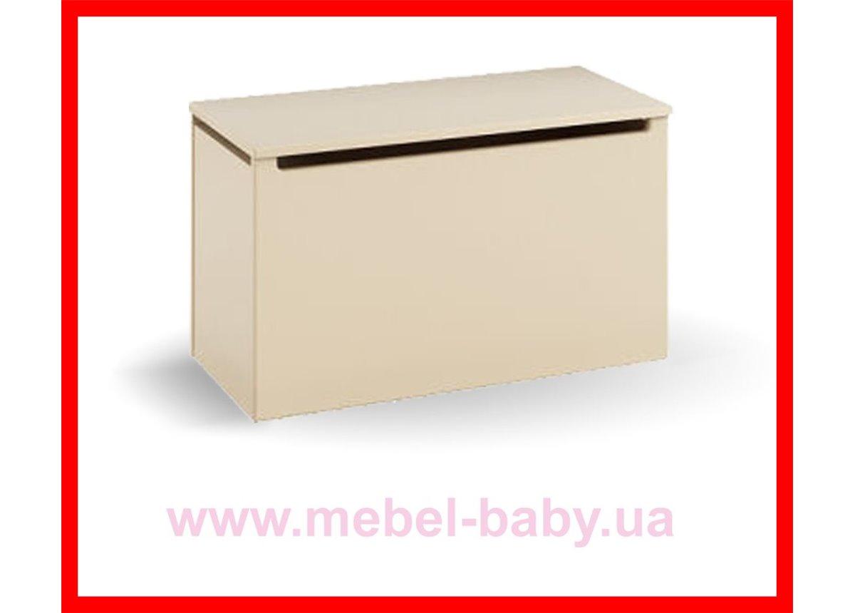 Распродажа 17_Ящик для игрушек Meblik Серия Vanilla Mix