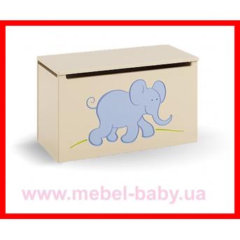 Распродажа 17_Ящик для игрушек Meblik Серия Savanna
