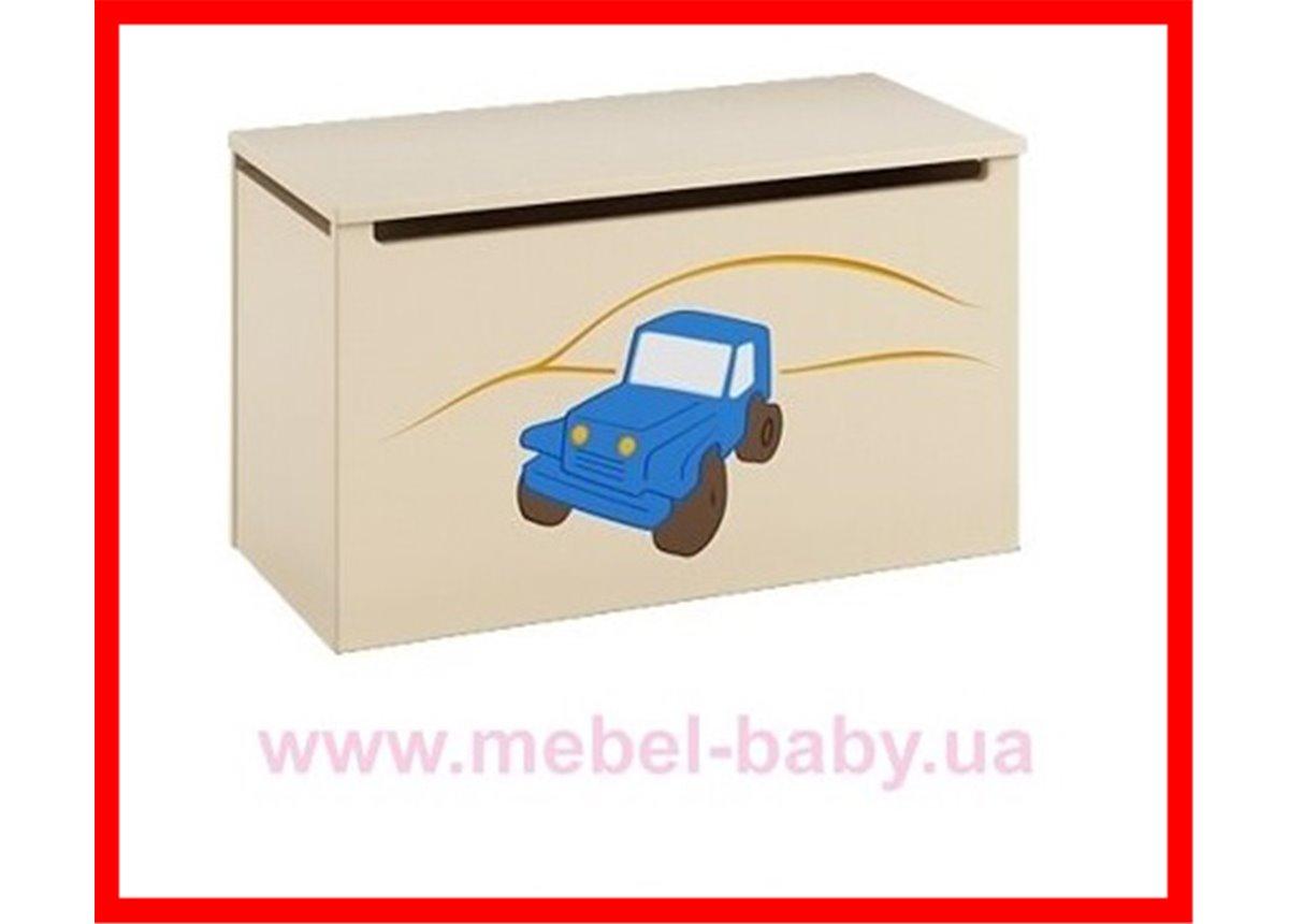 Распродажа 17_Ящик для игрушек  Meblik Серия Подорожник