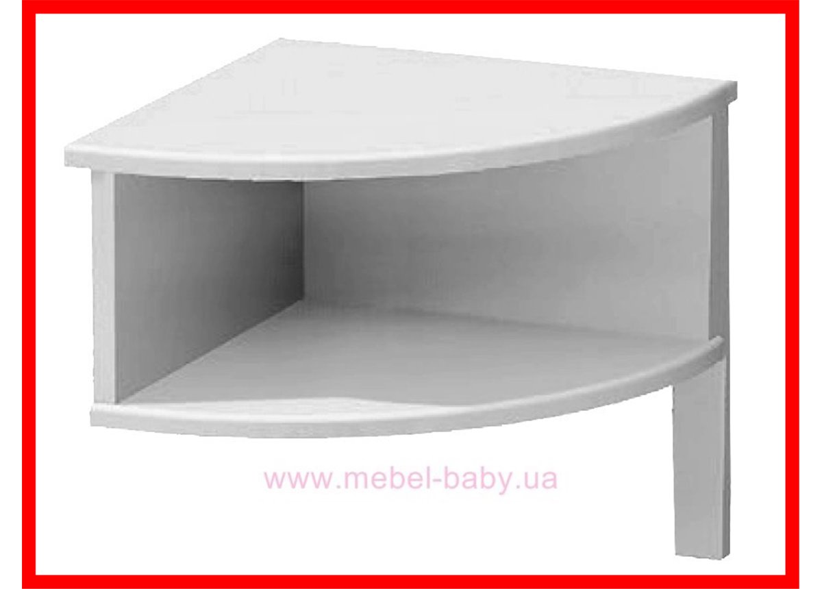 Распродажа 181_Ночной столик Meblik белый