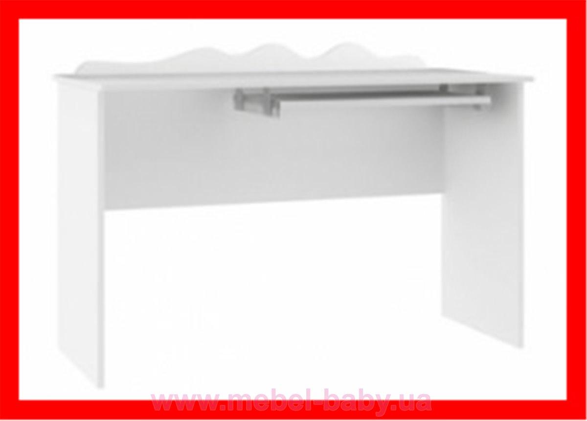 Распродажа 47_Письменный стол 120 Орхидея Meblik белый