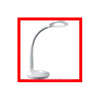 Распродажа 933_Настольная лампа Espirito серебряная