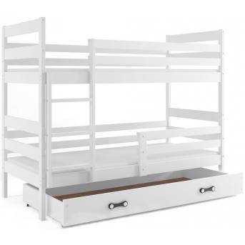 Двухъярусная кровать + 2 матраса + 1 ящик + бортик ERYKBunk BMS Group 80x190