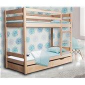 Двухъярусная кровать Донни Мистер Мебл 80x190