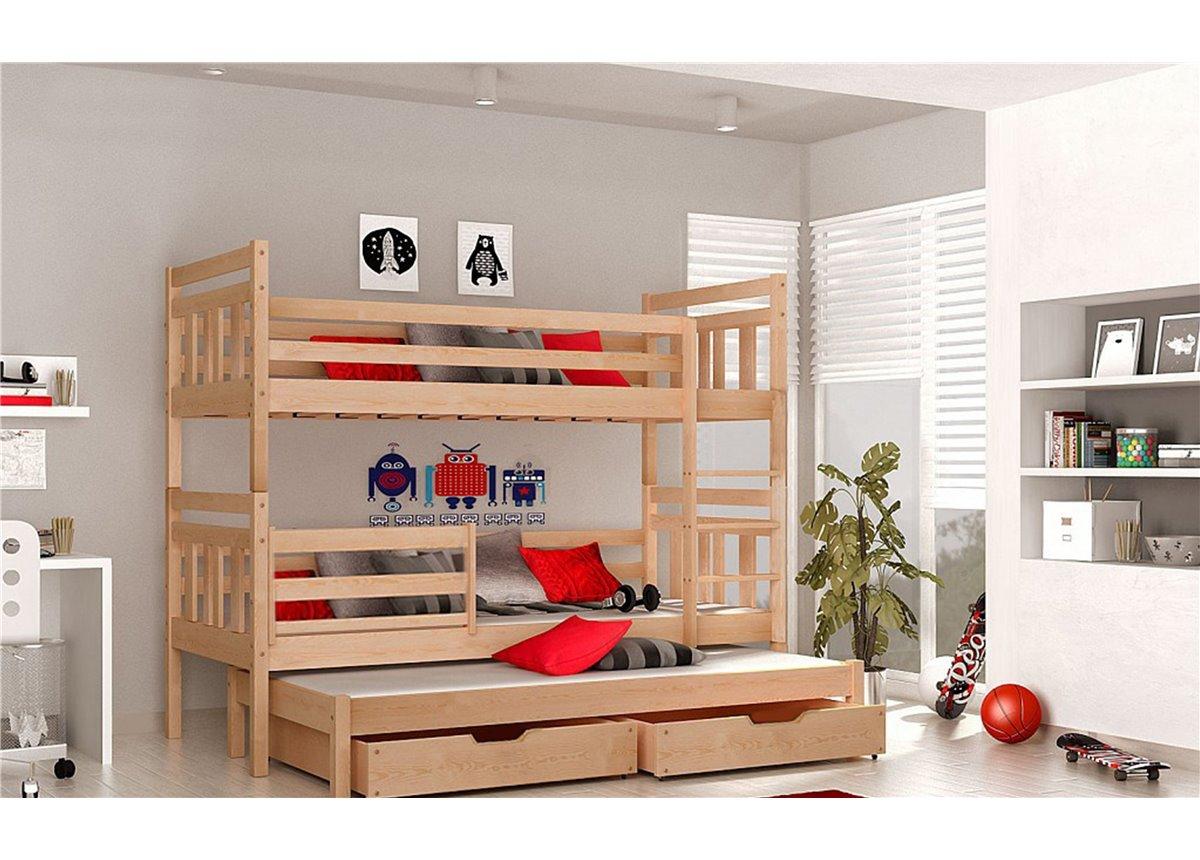 Двухъярусная кровать Джосси Мистер Мебл 80х200 Дерево