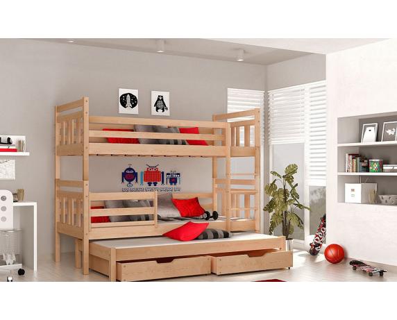 Двухъярусная кровать Джосси Мистер Мебл 80х190 Дерево