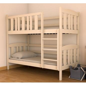 Кровать двухъярусная-трансформер Челси (масcив) Луна 80x190 натуральный бук