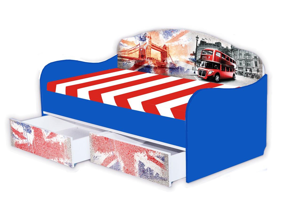 Кроватка диванчик Англия 190х90 MebelKon