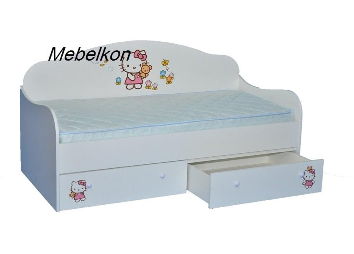 """Кроватка-диванчик """"Китти"""" 90х190 MebelKon"""