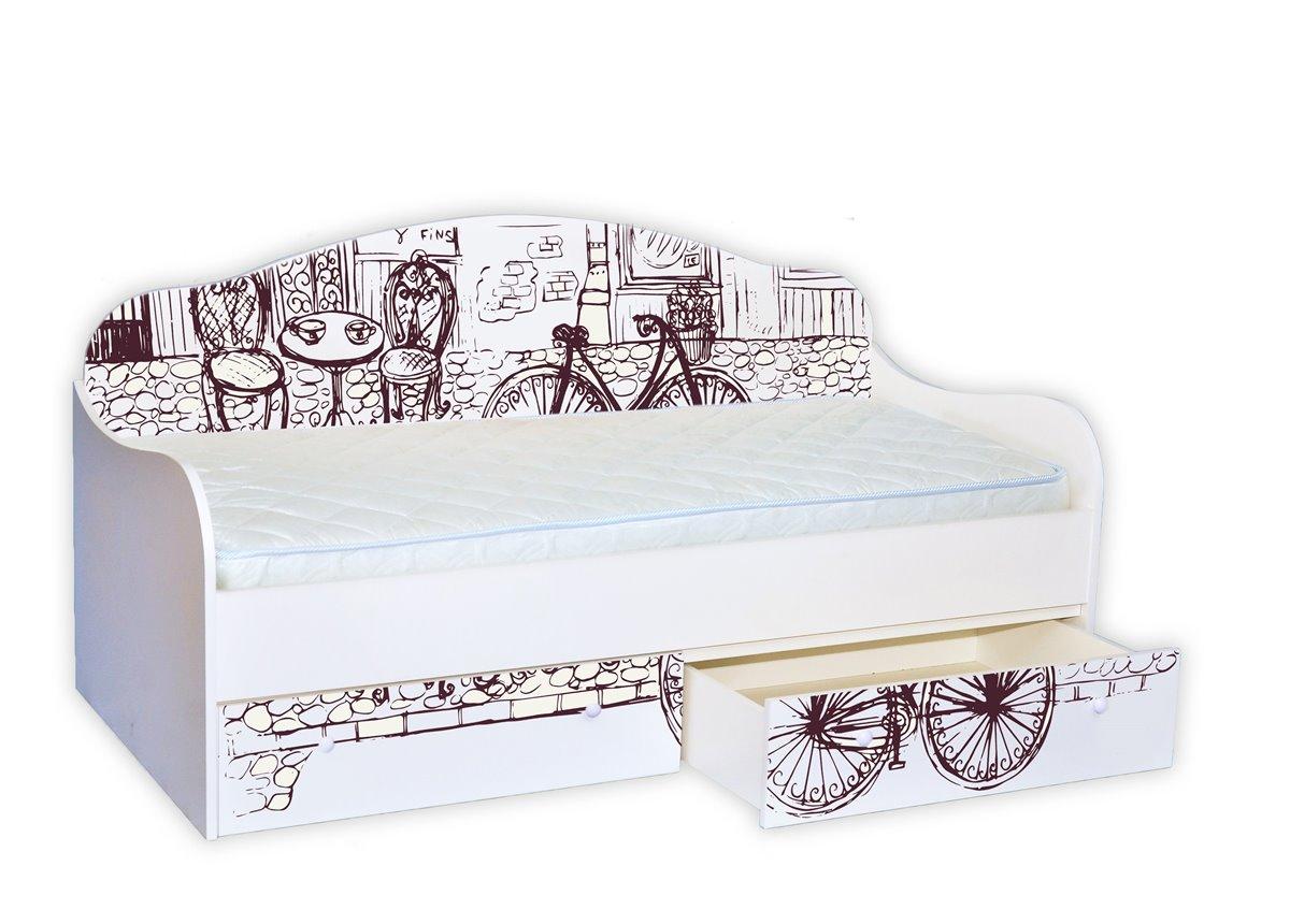 "Кровать-диванчик ""Винтаж"" 90х190 MebelKon"