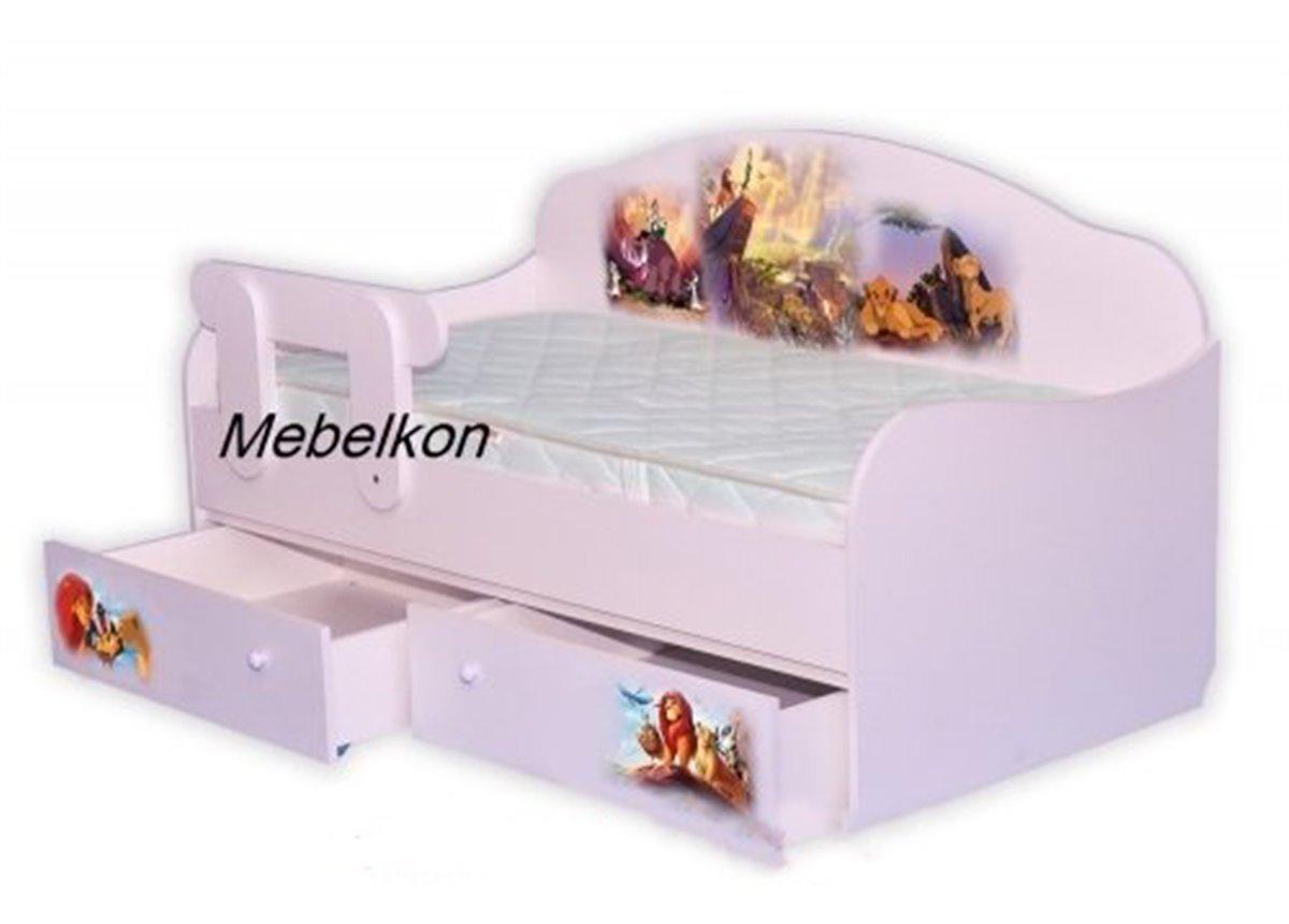 """Кровать-диванчик """"Король Лев"""" 90х190 MebelKon"""