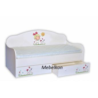 """Кровать-диванчик """"Лето с солнышком"""" MebelKon 80х170"""